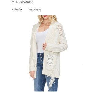 NWT Vince Camuto Cardigan